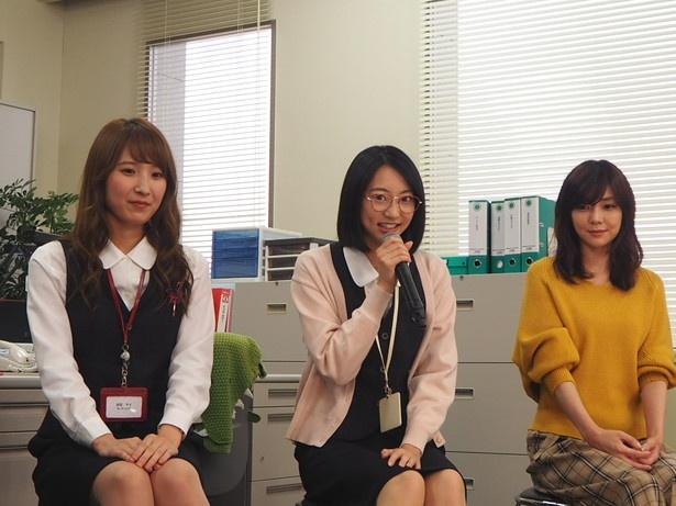 アニメオタクと公言する武田は「すぐアニメのキャラが頭に浮かんじゃうのが仲村さんと一緒かも」と共感