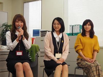 「名古屋の撮影ということで、凄く安心感があります」(内山)