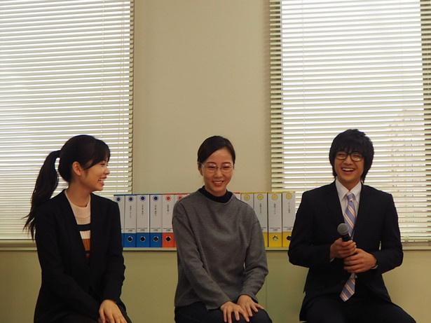 「地元が名古屋なので、ほとんどのロケ地が『ああチャリ(自転車)で行けるなあ』って」(本田)