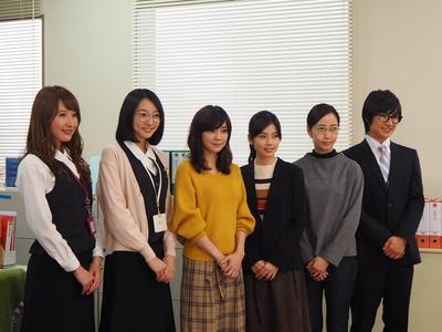 特撮オタクのOLを描いたドラマ「トクサツガガガ」の取材会に小芝風花、倉科カナらが出席