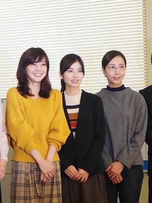 「演じるにあたって2年分の特撮と、最近は仮面ライダーシリーズを観ました」(倉科)