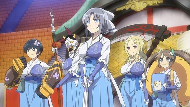 「閃乱カグラ SHINOVI MASTER -東京妖魔篇-」第5話の先行カットが到着。ついにシノビマスターズが開幕!