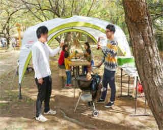 福岡「舞鶴公園」がBEAMS DESIGN監修のオシャレ空間に。新しい都心型アウトドアパークへ