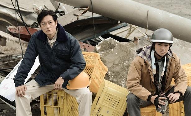 井浦新主演で2019年1月15日(火)に放送されるカンテレ開局60周年特別ドラマ「BRIDGE はじまりは1995.1.17神戸」