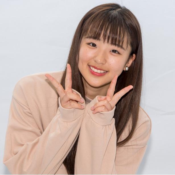 DVD「微笑み集めて」発売イベントに登壇した太田和さくら