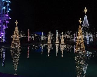 カヌチャリゾートが100万個のイルミに包まれる「スターダストファンタジア」開幕