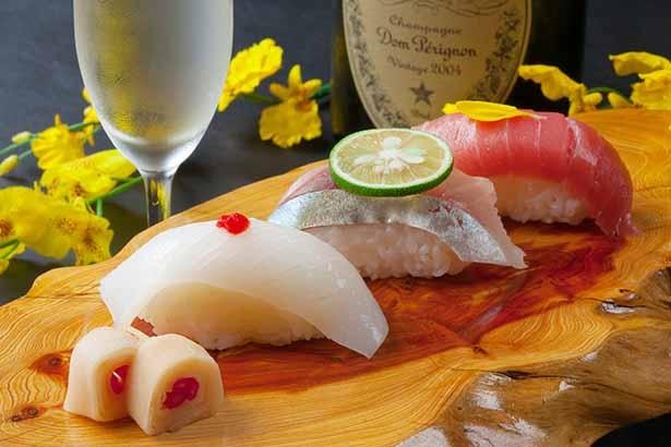 寿司職人がにぎる本格的な寿司も定評