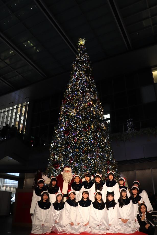 2018年11月7日(水)、名古屋駅JRゲートタワーでイルミネーション点灯式が行われた