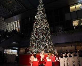 名古屋駅エリアで最大級ツリー!JRゲートタワーのクリスマスイルミネーションがスタート