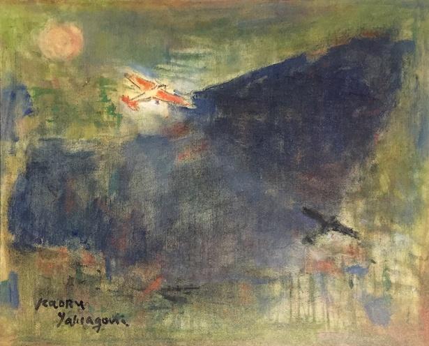 【写真を見る】1964年の作品「翼の影」