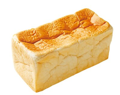 熟成純生食パン 雅(864円)。マスカルポーネを使い、湯種製法&高加水で仕上げる/熟成純生食パン専門店 本多 元町店