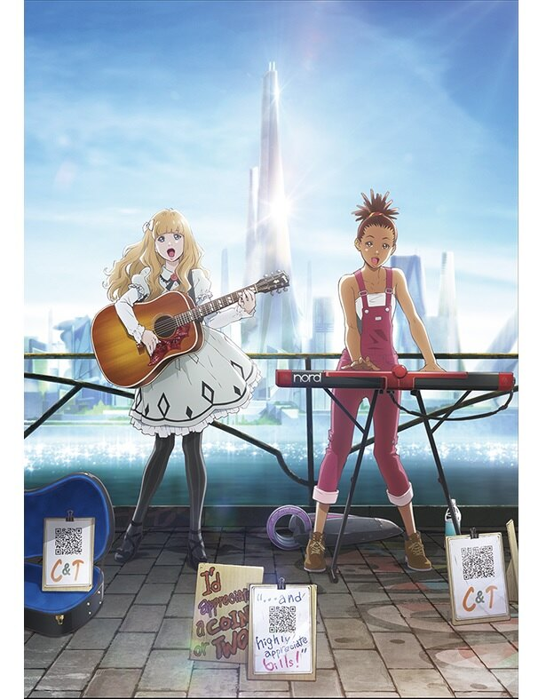 「キャロル&チューズデイ」が2019年4月に放送開始。キービジュアルが公開された