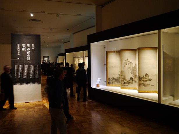 貴重な機会とあって、連日多くの人が訪れている展覧会