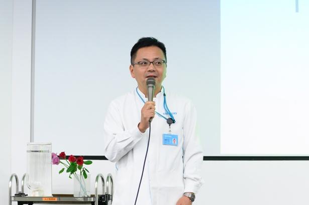 開発のきっかけを明かしてくれたサントリー商品開発研究部の藤原裕之さん