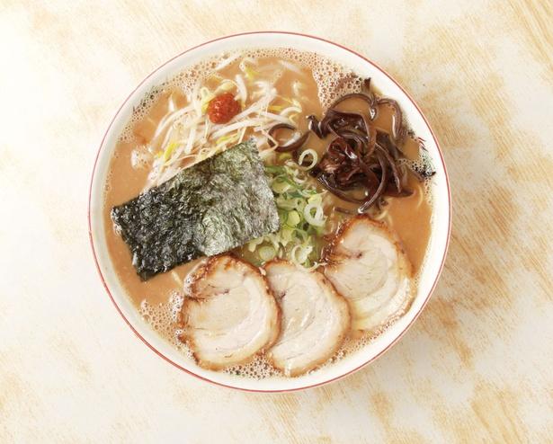 拉麺男 / 「こってりトンコツ」(780円)。豚骨の旨味が凝縮したこってりスープがおいしい