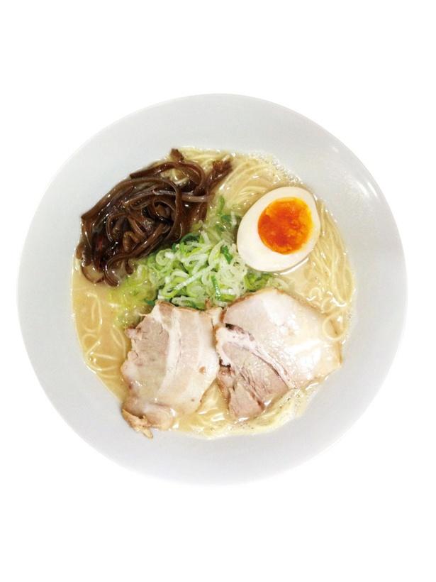 悠瑠里 / 「らぁめん」(610円)。好みに合わせて選べる、コシのある麺が特徴