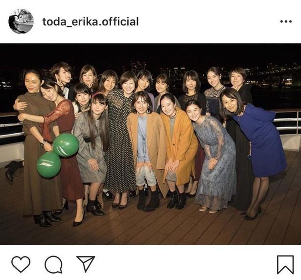 戸田恵梨香の事務所「フラーム」の美女軍団