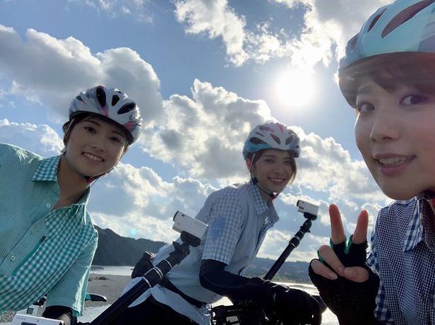 「旅こぎ~自転車女子の列島ツーリング」(CS放送・TBSチャンネル1)より
