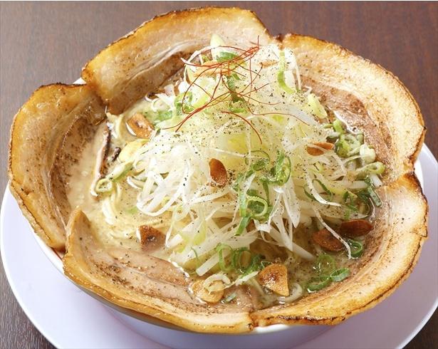 「京都ラーメン おおきに」の特製炙りチャーシューメン
