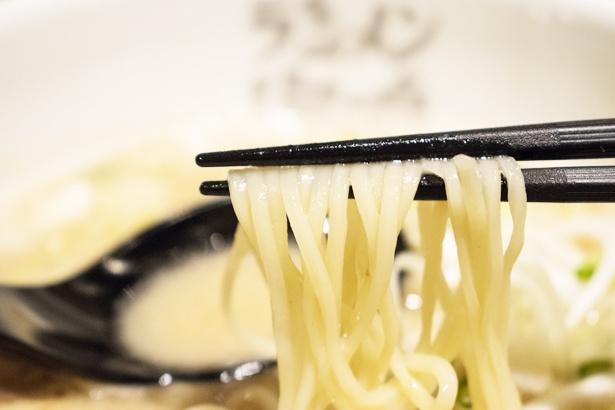 麺の固さを4段階から選べる