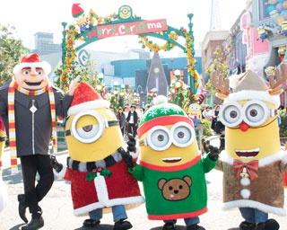 【USJ】今冬のパークもミニオンが主役に! 編集部が体験「イエロークリスマス」完全レポート