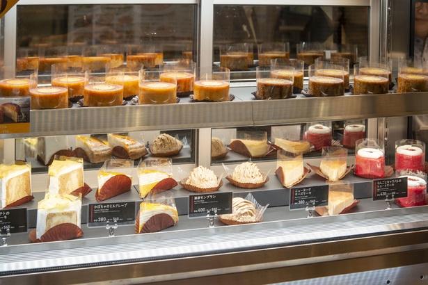 「エキテリア プロント」のカフェタイムでは、ケーキもオススメ