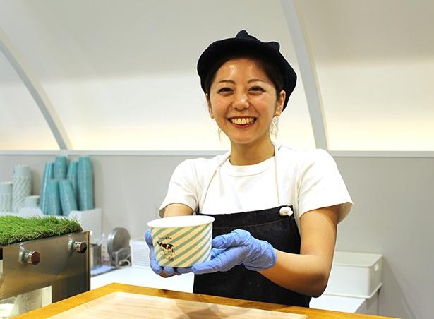 「ふわとろシフォンケーキ(600円)」はテイクアウトのカップもかわいい