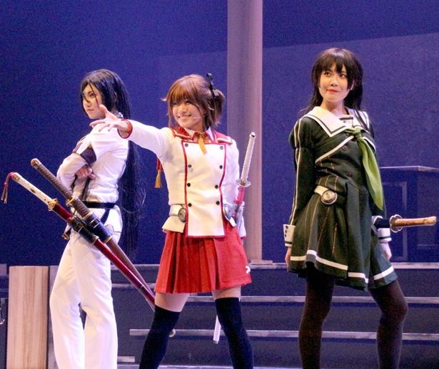 SKE48のメンバー5人が出演するAiiA presents'舞台「刀使ノ巫女」が東京・天王洲 銀河劇場で開幕
