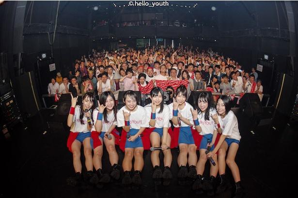 福岡・DRUM Be-1で初のワンマンライブ「Hello!!!!!!!~始まる青春~」を開催したHello Youth