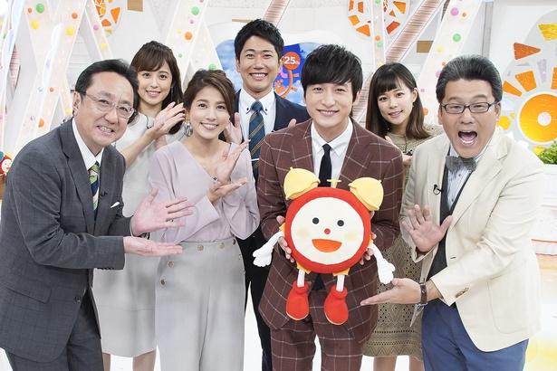 「めざましテレビ」11月のマンスリープレゼンターを務める小関裕太