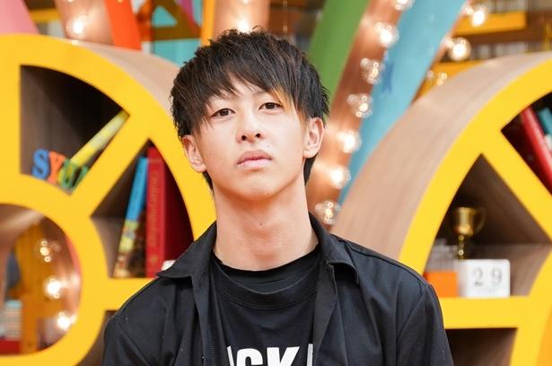 新メンバーの田中柊斗