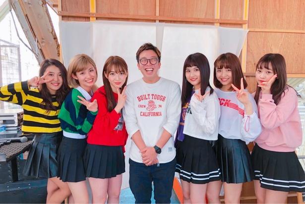 11月10日の名古屋近鉄パッセのリリースイベントでは重田優平(中央)もサプライズ出演