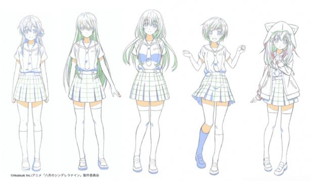 【写真を見る】キャラクターデザインも公開!