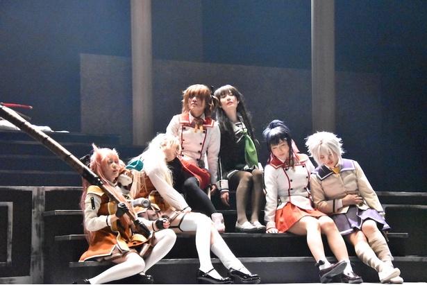 【写真を見る】AiiA presents' 舞台『刀使ノ巫女』ゲネプロより
