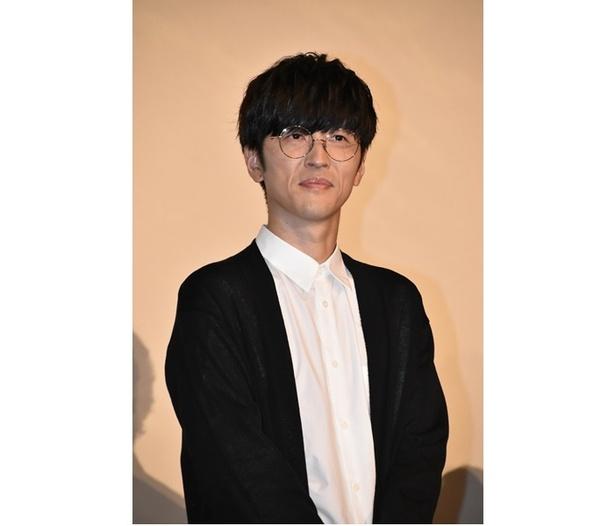 映画『GODZILLA』三部作の最終章、『GODZILLA 星を喰う者』の舞台挨拶に出席した、メトフィエス役の櫻井孝宏さん
