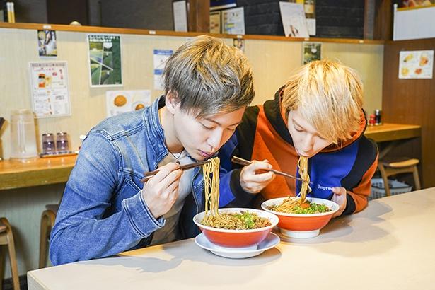新福菜館 / 「豚バラスライスたっぷりで食べ応え十分!」(坂田)