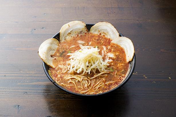 元祖トマトラーメン三味の「トマトラーメン17記念辛麺」