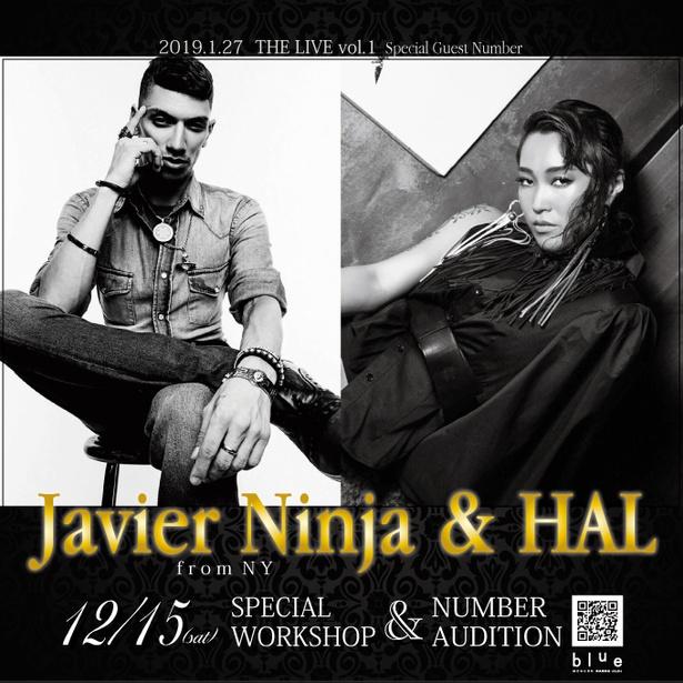 Javier Ninja & HAL WORKSHOP & NUMBER AUDITION