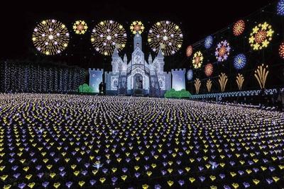 イルミネーション部門1位は「あしかがフラワーパーク『光の花の庭』」