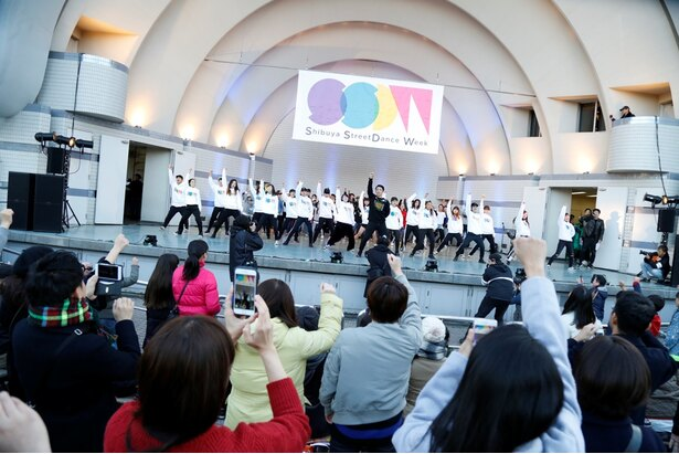ストリートダンサーの聖地・渋谷で開催される祭典