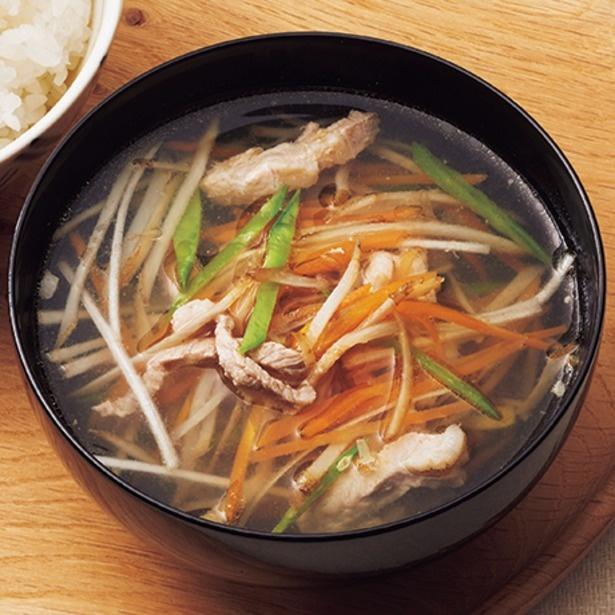 副菜としても大活躍する「沢煮椀」
