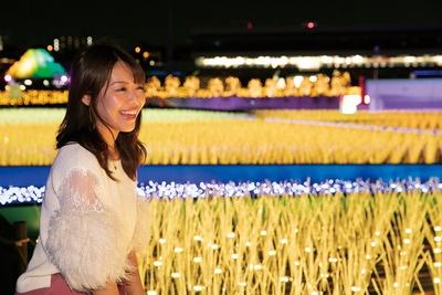 青々とした稲が自然の中で実っていくさまを再現。江戸時代の牧歌的な景色が広がる「THE GENFUKEI」