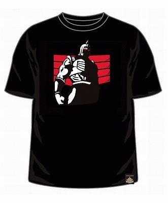 【画像】仁王立ちで迫力あるロビンの勇姿を再現したロビンマスクTシャツのほか全デザインを大公開!