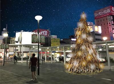 広島県福山市で冬を彩る灯りの祭典「ルクシアタふくやま2018」が開催中