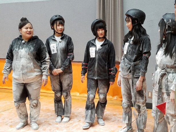 SKE48メンバーがおかずクラブ・ゆいPから笑いの真髄を学ぶ