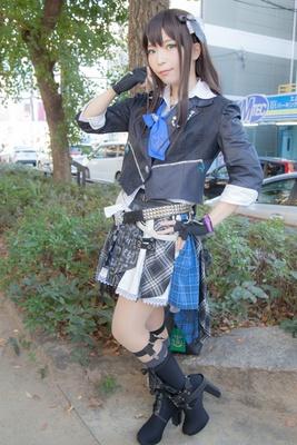 「アイドルマスター シンデレラガールズ スターライトステージ」の渋谷凛に扮したあおぎりさん