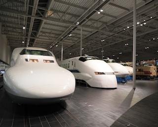 """""""高速鉄道技術の進歩""""をコンセプトに東海道新幹線から超電導リニアまでを展示するリニア・鉄道館"""