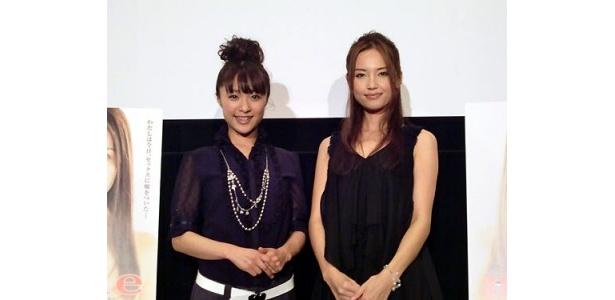 トークショーにはみひろと渡辺奈緒子が登壇。それぞれが作品に込めた熱い思いを語ってくれた