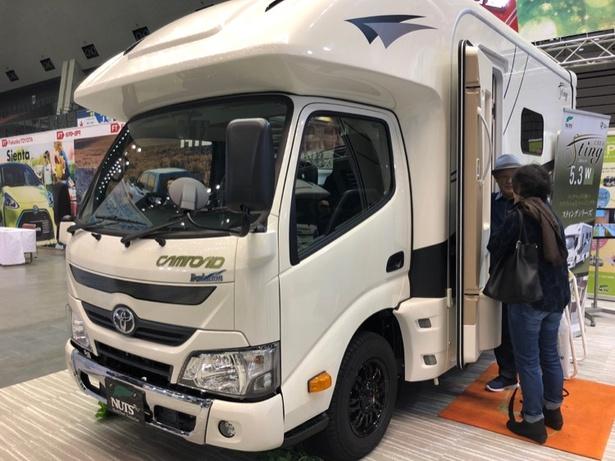 ナッツRV クレア スティング エボリューション 5.3W(トヨタ・カムロードベース)