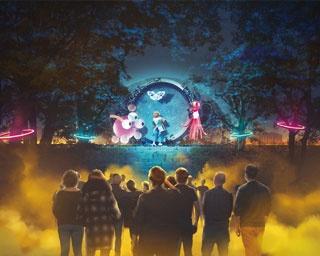 未来から来た少女と一緒に冒険!大阪城公園に最先端のナイトエンタテインメント「SAKUYA LUMINA」が登場